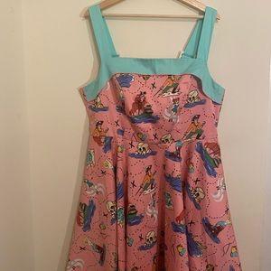 NEVERLAND print Netti dress